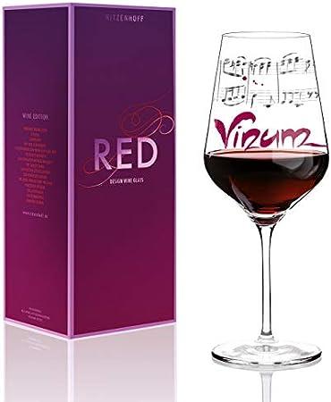 RITZENHOFF 58 cl Annett Wurm Wine Glass, Red