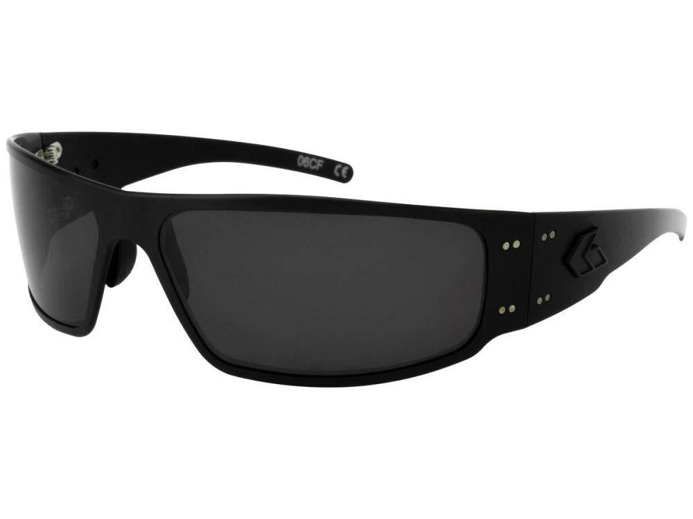 19f30a980c Amazon.com   Gatorz Magnum Aluminum Frame Sunglasses-Black Smoked Lens    Sports   Outdoors