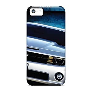 Scratch Resistant Cell-phone Hard Covers For Apple Iphone 5c With Unique Design Realistic Chevrolet Camaro Pattern LauraAdamicska