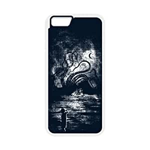 iPhone 6 Plus 5.5 Inch Cell Phone Case White Kraken Carnage Qwovq