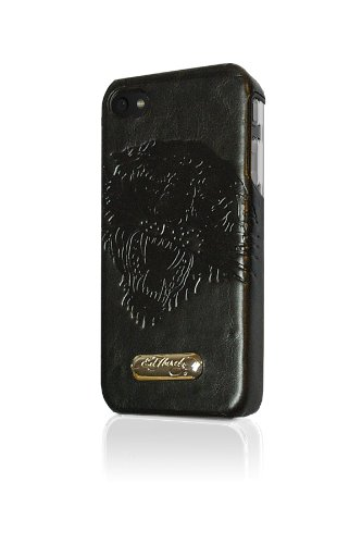Executive Ed Hardy Faceplate for iPhone 4 - Tiger - Black - Ed Hardy One Piece
