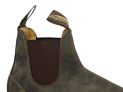 Classic Blundstone Chelsea 587 Brown Adults' Boots Unisex Rustic 7S8xH5qaw8