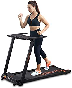UREVO Foldable Treadmills for Home