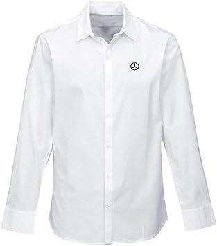 Mercedes-Benz Lifestyle Collection - Camisa de vestir para hombre: Amazon.es: Coche y moto