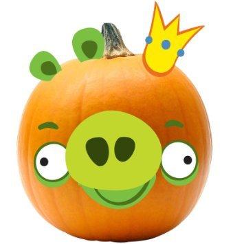 Angry Birds Halloween Pumpkin Push-Ins (King