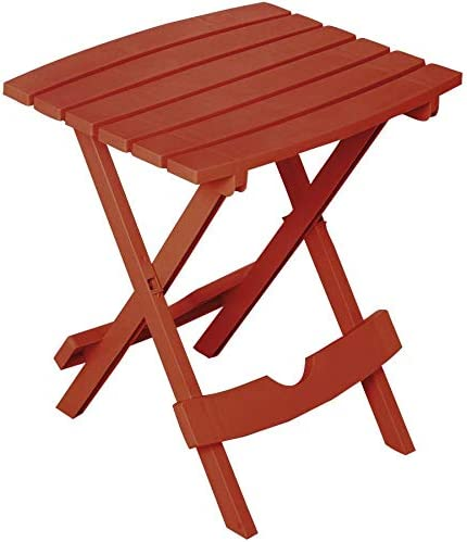 ADAMS MFG PATIO FURN 8500-66-4744 Portable Clay Quick Fold Table
