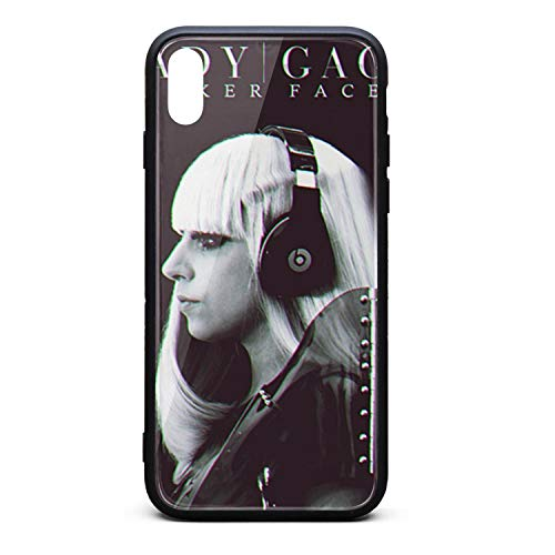 Lady-gaga-Poker-face- iPhone Xs Case Popular Smart Cell Case for iPhoneXS iPhone Xs ()