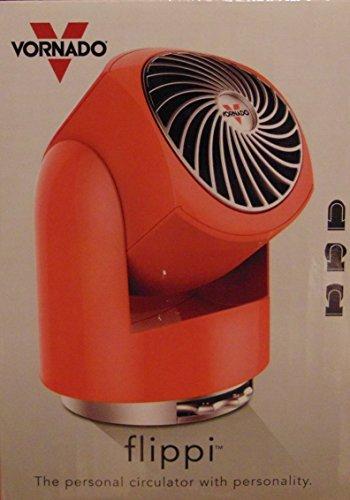 Flippi Personal Circulator (Vornado Flippi Fan Melon/Orange Two Speed V6 Personal Air Circulator)