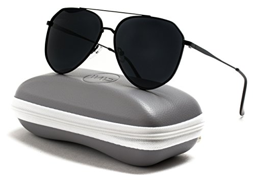 WearMe Pro - Classic Designer Inspired Medium Metal Frame Aviator Sunglasses