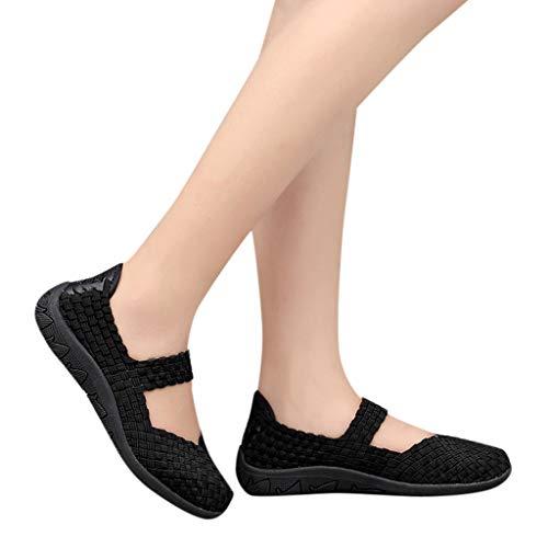 En —sandales Baskette Vacances Noir Ete Plates Mary Plage Pas Kitipeng Cher Soldes De Sport Janes Loisir Femme Chaussure HxwgPFqz