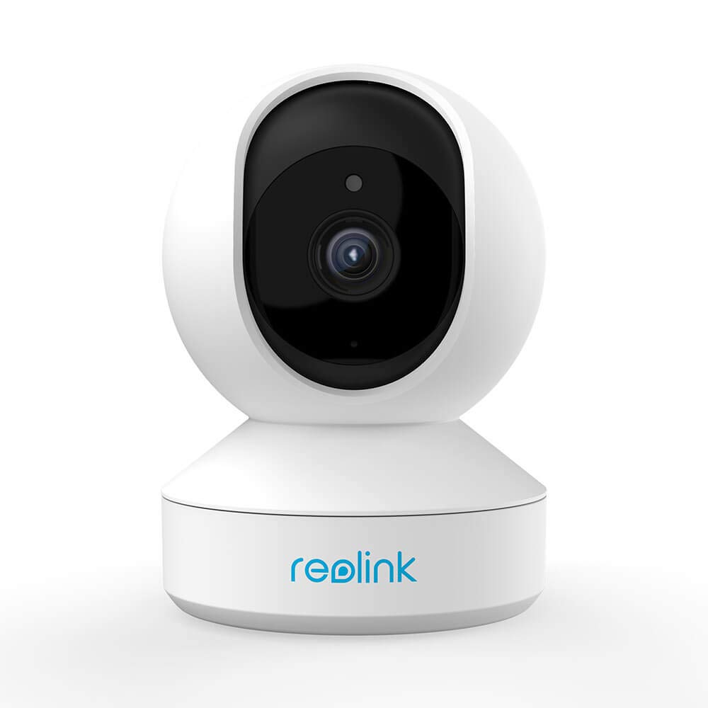 REOLINK 3MP Super HD Indoor Wireless Home Security Camera, 2.4Ghz WiFi Pan/Tilt Baby Monitor, Two-Way Audio, Night Vision, Remote Viewing w/SD Slot, E1 by REOLINK