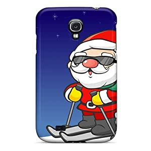 Awesome Design Funny Christmas Cards Hard Case Cover For Galaxy S4