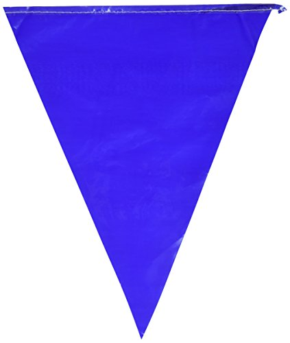 Indoor/Outdoor Pennant Banner (blue) Party Accessory  (1 count) ()
