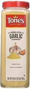 Tone's Granulated Garlic - 26 oz shaker [Misc.]
