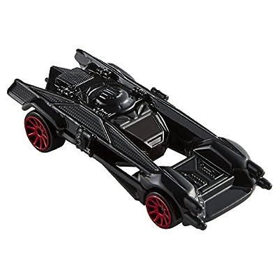 Hot Wheels Star Wars Kylo Ren's Tie Silencer Vehicle: Toys & Games