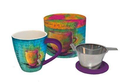 Lang Loved Tea Infuser Mug, Multicolor