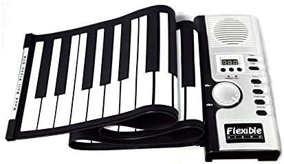 Piano Portátil Enrollable de 61 Teclas