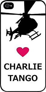 Love Charlie Tango -Hard Black Plastic Snap - On Case-Apple Iphone 5 - 5s - Great Quality!