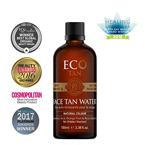 Eco by Sonya Eco Tan, Organic Face Tan Water Suitable for Oily & Acne-Prone Skin, 3.381 FL. OZ (100 ML) by Eco by Sonya (Image #7)