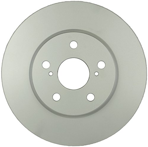 (Bosch 50011225 QuietCast Premium Disc Brake Rotor For Toyota: 2005-07 Avalon, 2004-06 Camry, 2004-10 Sienna, 2004-08 Solara, Front)