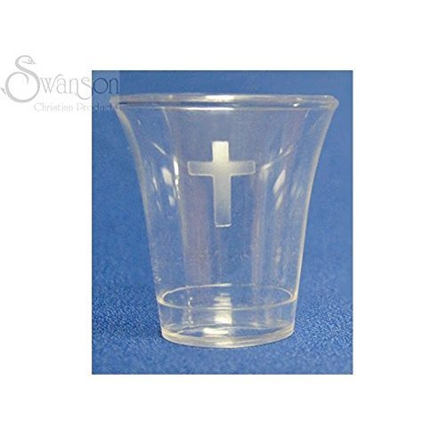 (Communion - Cup - Disposable (Cross) - 1 - 3/8