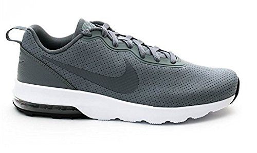 Nike Hombres Air Max Turbulence Ls, Negro / Blanco Cool Gray / Cool Grey-black-wht