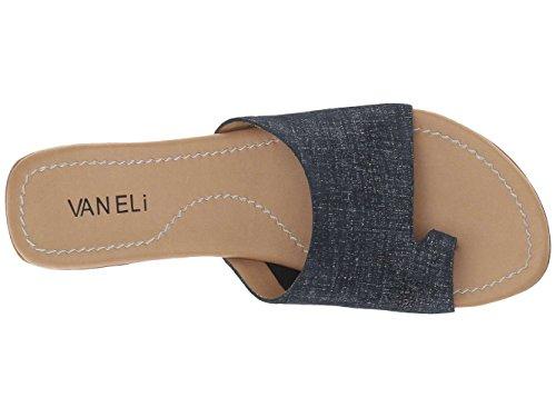 Slide Sandals Split Toe Fabric Tallis Jeans Lino Womens Casual VANELi ZwTqRR