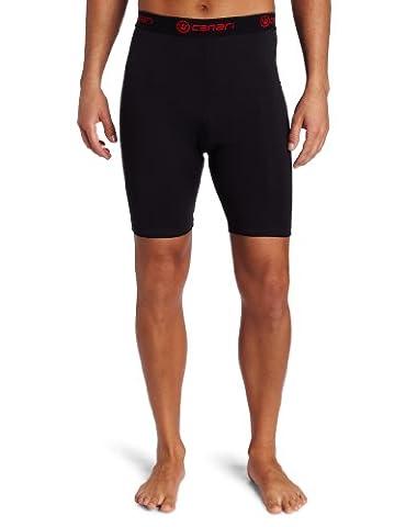 Canari Cyclewear Men's M Gel Cycle Liner Padded Cycling Short (Black, X-Large) - Canari Cycling Apparel