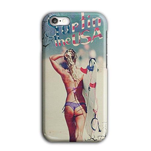Sexy Sports Chicks (Girl Ass Butt Usa Sexy Surf Chick iPhone 7 Case | Wellcoda)