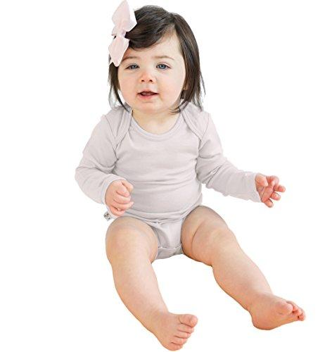 Merino Wool Suit - Woolino Baby Long Sleeve Bodysuit, Merino Wool, 12-18 Months, Beige