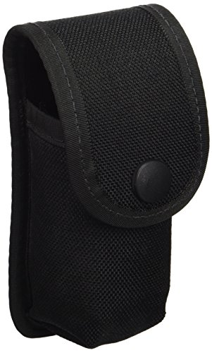 Uncle Mike's Kodra Duty Nylon Web Snap Close MKIII OC Case, Black