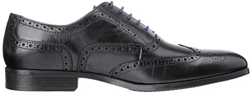 Leather Black Clarks Scarpe Limit Stringate Banfield Uomo 261094 Nero q6wS8v