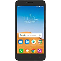 Alcatel Tetra, OT-5041C, 5.0', 16GB ROM, 2GB RAM, Black, Unlocked, Android 8.1 Oreo, 4G LTE, Non-Retail Packaging