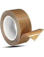 Teflon Hoge Temperatuur Tape Teflon Tape Vacuüm Sealer Machine Vacuüm Sealer Machine Tape Hoge Temperatuur Tape Lassen Afdichtingsband voor vacuüm afdichting machine hittebestendig industrieel doel vacuüm geel