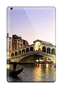 First-class Case Cover For Ipad Mini 3 Dual Protection Cover Rialto Bridge Grand Canal Italy