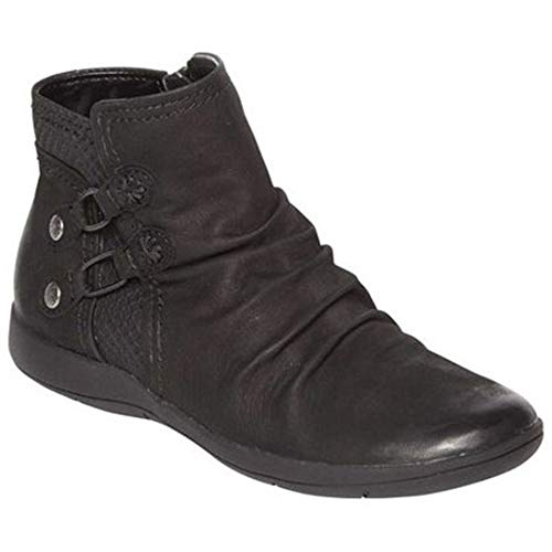 Rockport Women's Daisey Strap Boot Ankle, Black, 11 M US