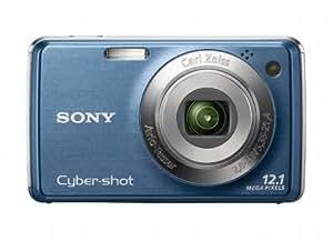 Sony Cyber-shot DSC-W230 12 MP Digital Camera with 4x Optical Zoom and Super Steady Shot Image Stabilization (Dark Blue)