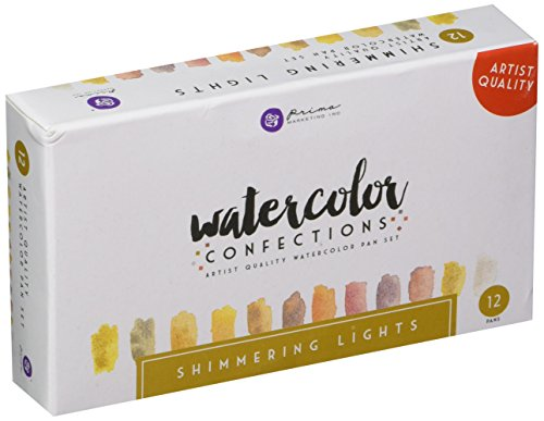 Price comparison product image Prima Marketing 590260 Watercolor Confection: Shimmering Lights