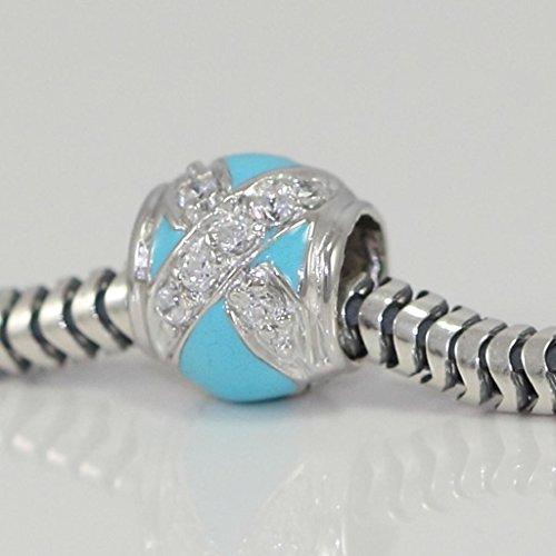 Turquoise Simulant Stone Bracelet - 1