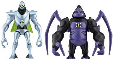 Ben 10 Alien Creation Chamber Figure Set: Ultimate Spidermonkey and (Alien Creation Transporter Set)
