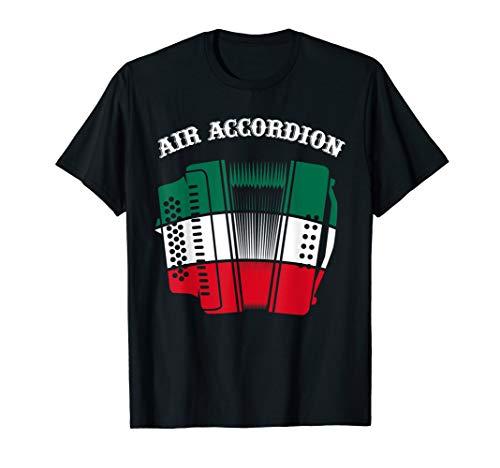Mexican Air Accordion - Mexico Soccer Football T-Shirt