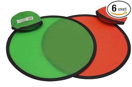 Amazon.com: Frisbee Flyer de bolsillo plegable con bolsa ...