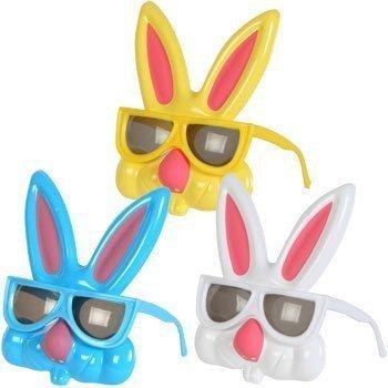 Kid's Plastic Easter Bunny Sunglasses, 7