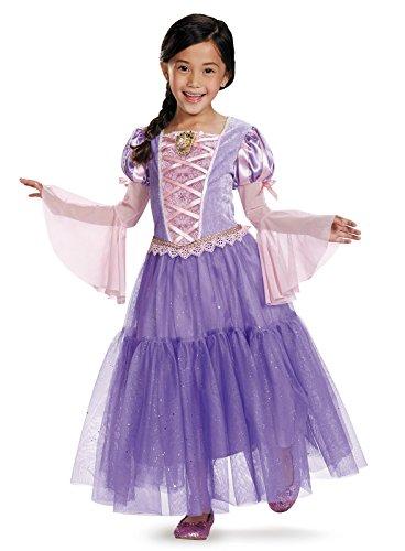 Rapunzel Shimmer Deluxe Costume - Small - Tangled Princess Rapunzel Shimmer Deluxe Costumes
