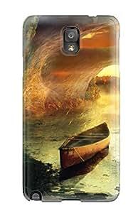 Hot Design Premium VEegIyq4475rxzik Tpu Case Cover Galaxy Note 3 Protection Case(boat)
