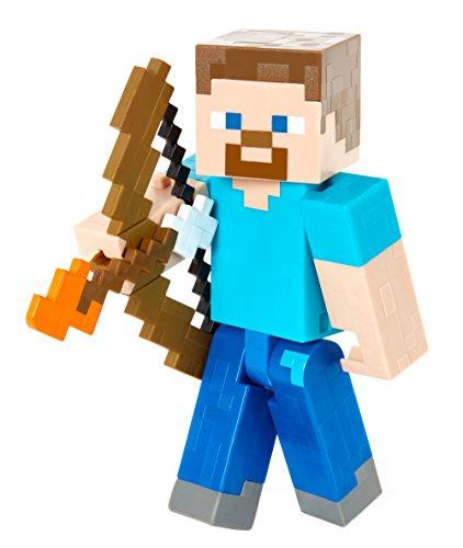 Minecraft Steve with Bow and Arrow Figure -