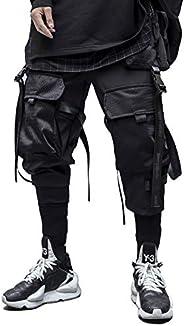 Niepce Inc Sweatpants Urban Japanese Kanji Streetwear Men Joggers Harajuku Mechanized Trousers