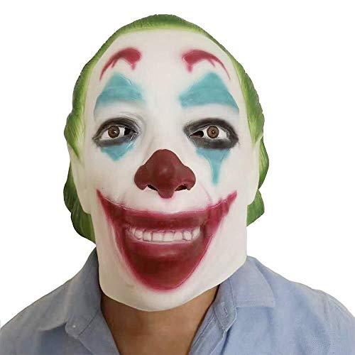 Adam And Eve Dance Costumes - EGCLJ Scary Latex Mask - Halloween Mask - Cosplay Costume Mask -