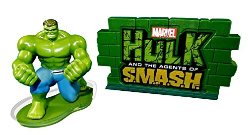 Hulk Agents of SMASH - Marvel 3D Action Figure Cake Decorating Kit, DecoPac