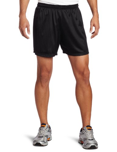 Soffe Men's Nylon Mini-Mesh Short Black XX-Large (Soffe Mesh)